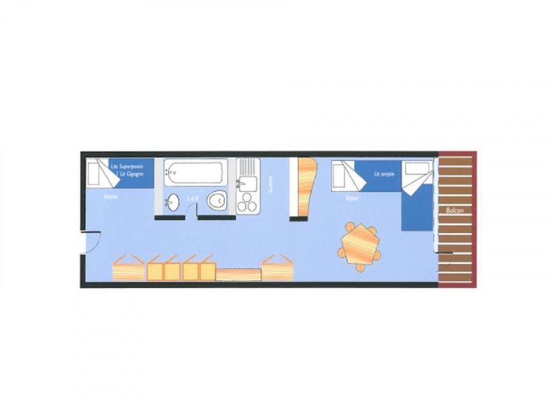 Appartement 2 pièces 7 personnes (860)
