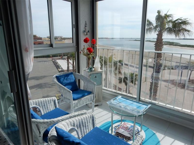 Location vacances Gruissan -  Appartement - 3 personnes - Loggia - Photo N° 1