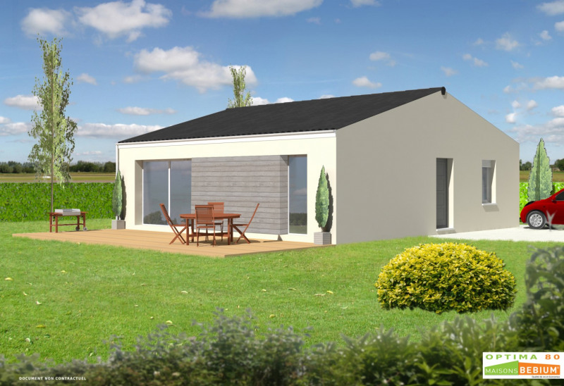 Maison  4 pièces + Terrain 340 m² Charron par MAISONS BEBIUM LA ROCHELLE