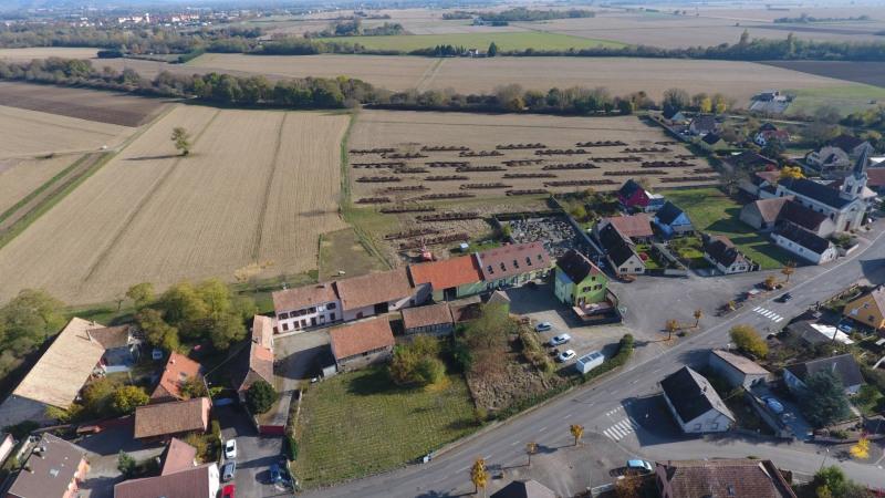 Vente terrain constructible weckolsheim 593m 85985 for Combien coute un terrain constructible