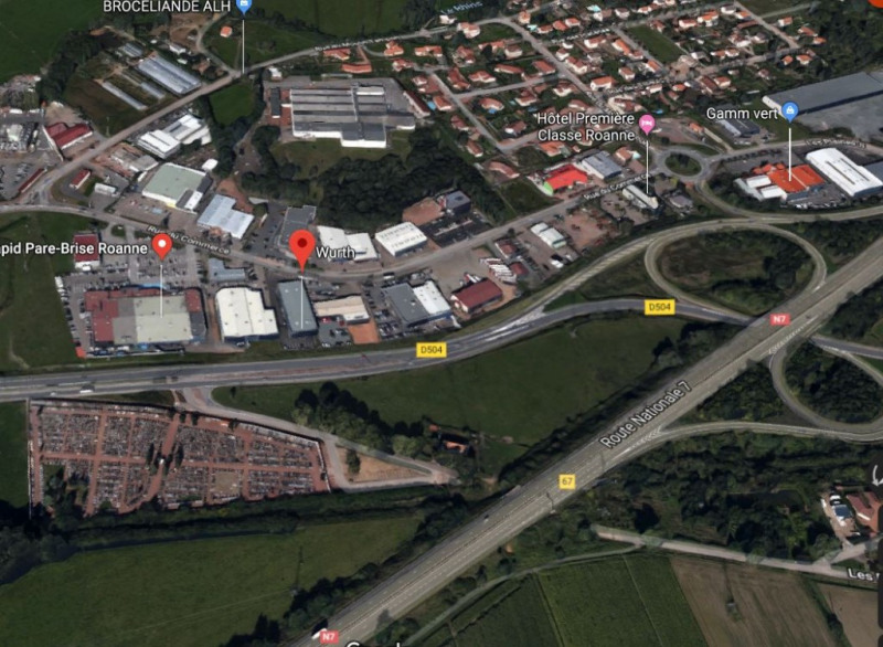 Location Local commercial Roanne