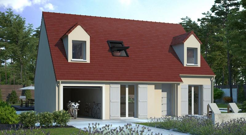 Maison  7 pièces + Terrain 448 m² Brie-Comte-Robert par MAISONS D'EN FRANCE - SEINE-ET-MARNE
