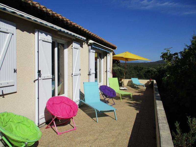 Maison de plein pied agréable dans un des plus beau village de France