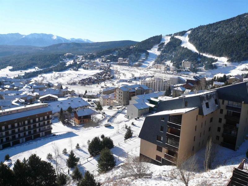 la vue du balcon (hiver)