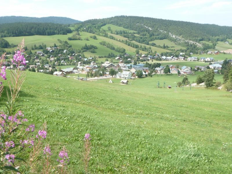 vue du village en été