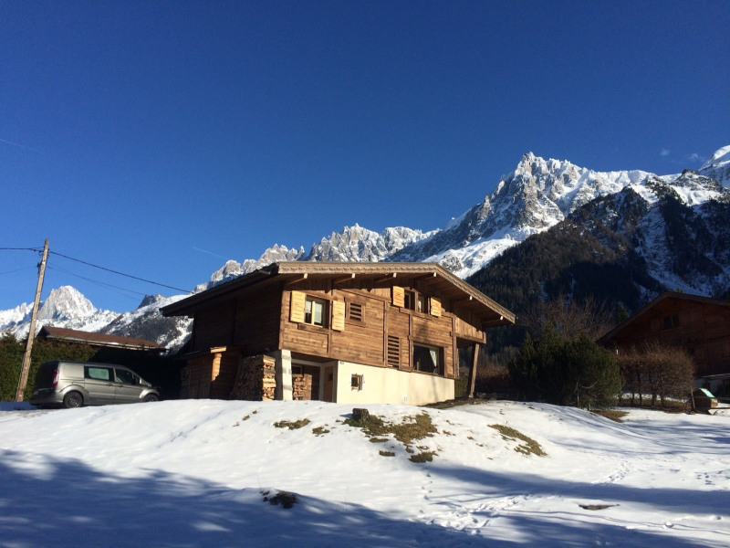 Holiday rentals Les Houches - House - 9 persons - Deck chair - Photo N° 1