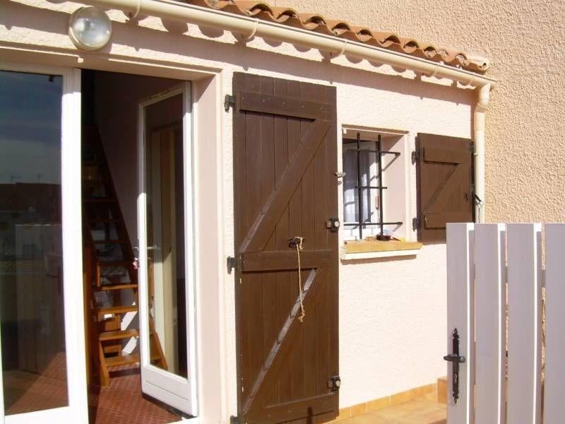 Pavillon T2 + mezzanine, 20 m de la plage.
