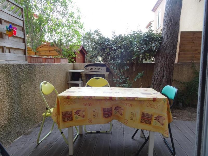terrasse privée intérieure (orientée EST)