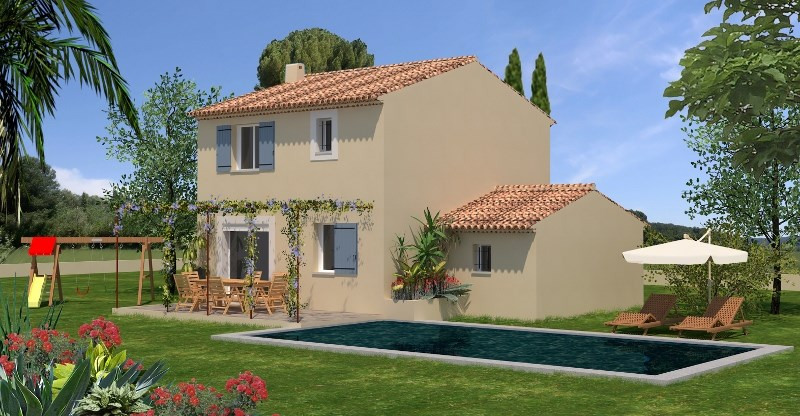 Maison  4 pièces + Terrain 590 m² Mus par MAISON D'EN FRANCE MIDI MEDITERANNEE SALON