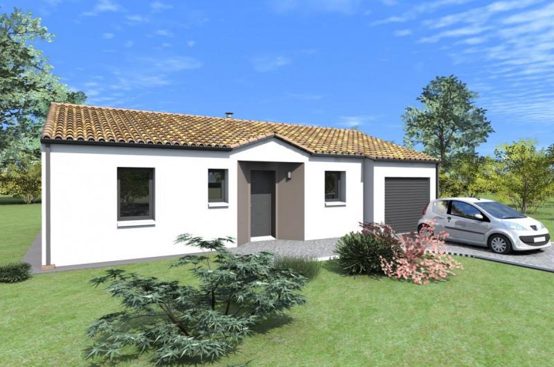 Maison  5 pièces + Terrain 457 m² L'Herbergement par ALLIANCE CONSTRUCTION LES HERBIERS