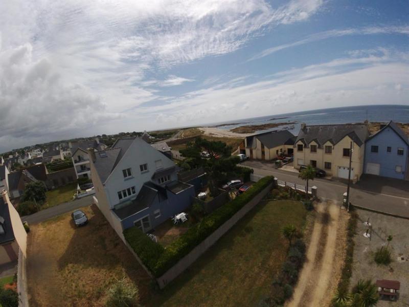 maison vue aérienne