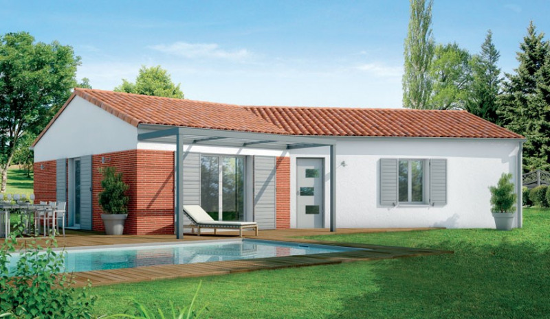 Maison  5 pièces + Terrain 540 m² Izon par MAISONS SANEM
