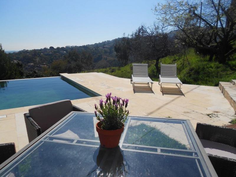 Appartement en Rez-de-villa avec piscine à débordement VUE MER