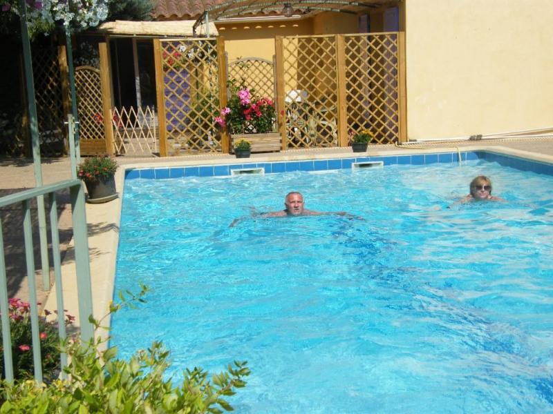 Appartement pour 7 pers. avec piscine, Gargas