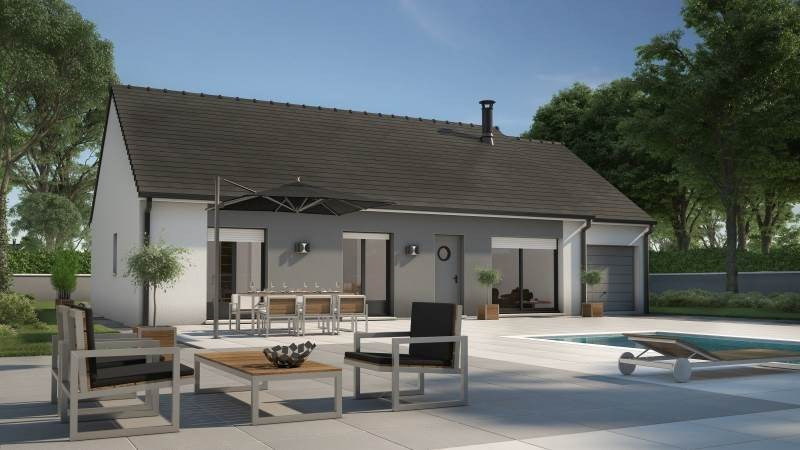 Maison  6 pièces + Terrain 1122 m² Lusigny-sur-Barse par MAISONS FRANCE CONFORT