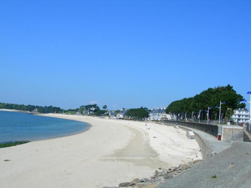 vue de la plage du Trez située devant la résidence