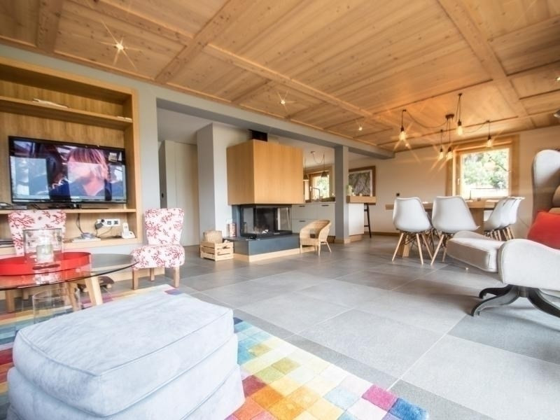 Location vacances Chamonix-Mont-Blanc -  Maison - 10 personnes - Télévision - Photo N° 1