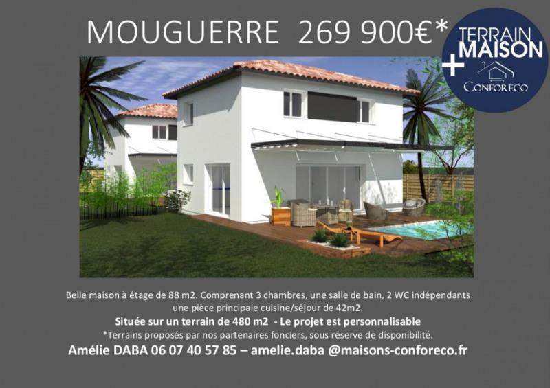 Maison  4 pièces + Terrain 480 m² Mouguerre par MAISONS CONFORECO - AGENCE ANGLET