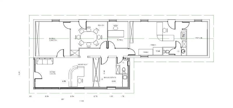 location bureau libourne 33500 bureau libourne de 145 m ref 33 7136. Black Bedroom Furniture Sets. Home Design Ideas