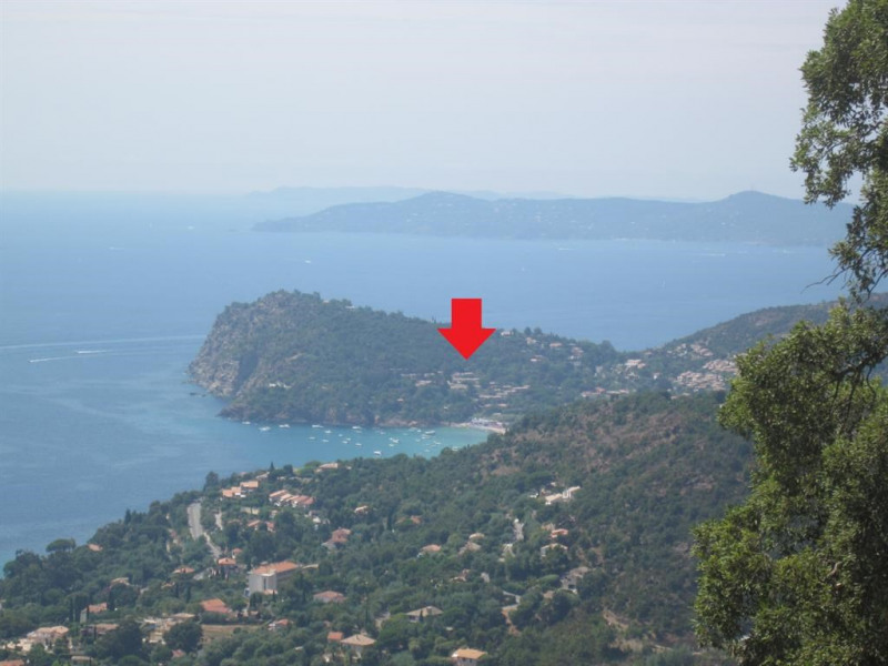 vue résidence sur Cap Nègre