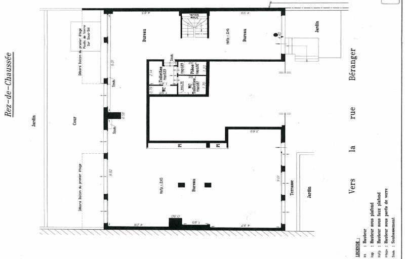 location bureau boulogne billancourt hauts de seine 92 232 m r f rence n 447027. Black Bedroom Furniture Sets. Home Design Ideas