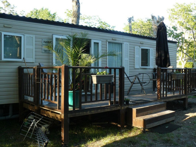 mobil-home camping 4* st augustin sur mer