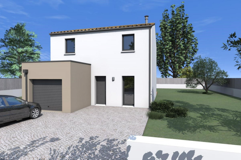 Maison  5 pièces + Terrain 360 m² Saint-Julien-de-Concelles par ALLIANCE CONSTRUCTION NANTES