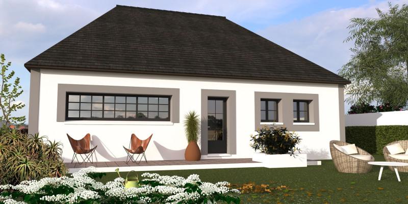 """Modèle de maison  """"Wagram 123 - Contemporaine"""" à partir de 5 pièces Yvelines par MAISONS BERVAL – DIRECTION COMMERCIALE"""