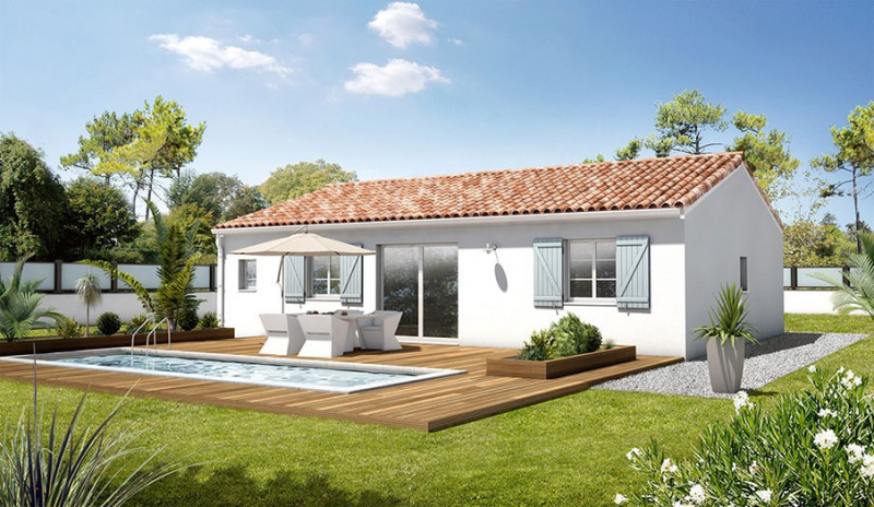 Maison  3 pièces + Terrain 350 m² Saint-Thibéry par MAISONS BATI FRANCE PEZENAS