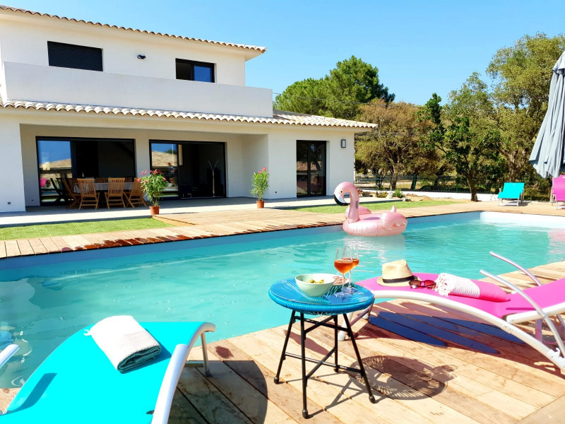 Holiday rentals Zonza - House - 8 persons - BBQ - Photo N° 1
