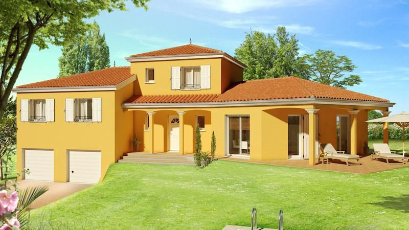 Maison  5 pièces + Terrain 1000 m² Pusignan par DEMEURES CALADOISES