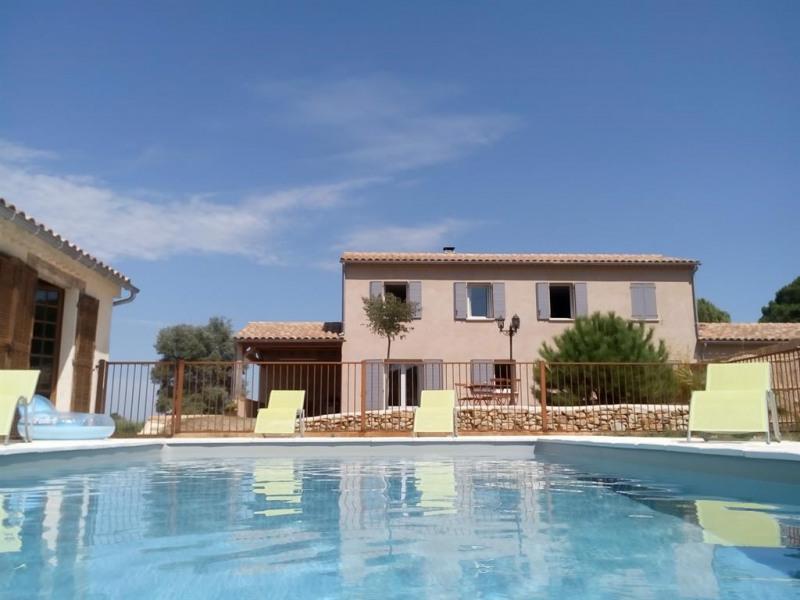 la villa et sa piscine privée & sécurisèe