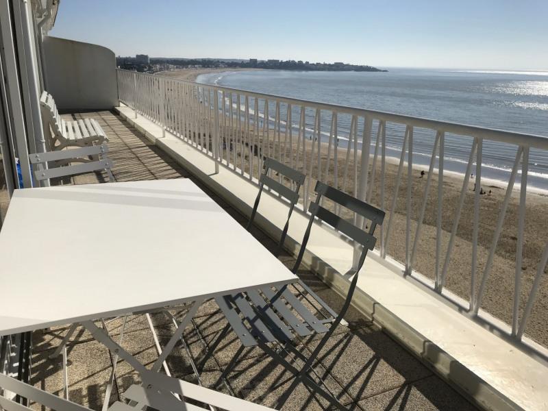 Terrasse vue estuaire,plage