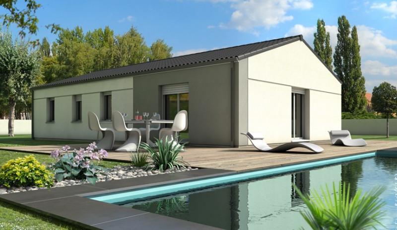 Maison  5 pièces + Terrain 450 m² Bérat par MAISONS LOGECO