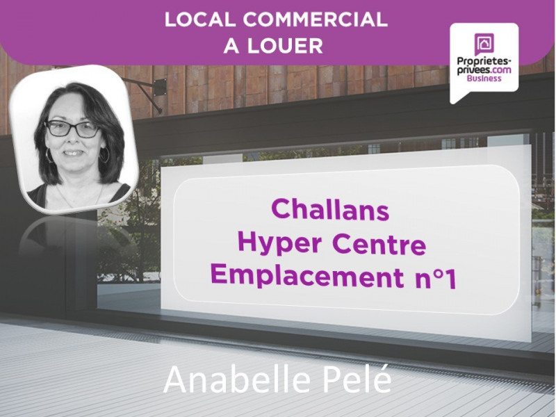 Location Local commercial Challans