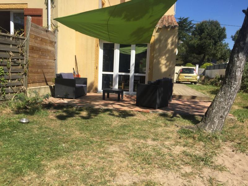 Jardin clos et place de parking