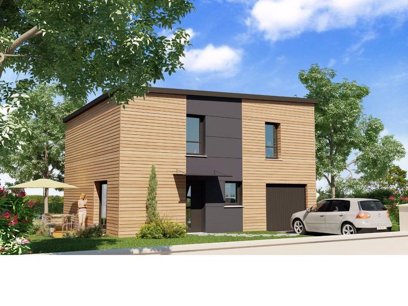 vente maison vitr maison projet de construction 119m 220448. Black Bedroom Furniture Sets. Home Design Ideas