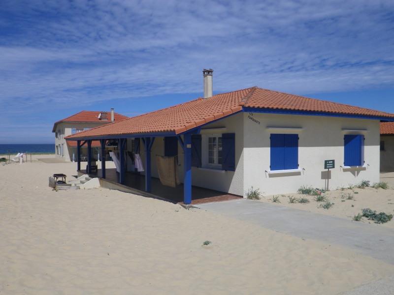 Location de notre maison les pieds dans le sable à Saint Girons plage dans Landes