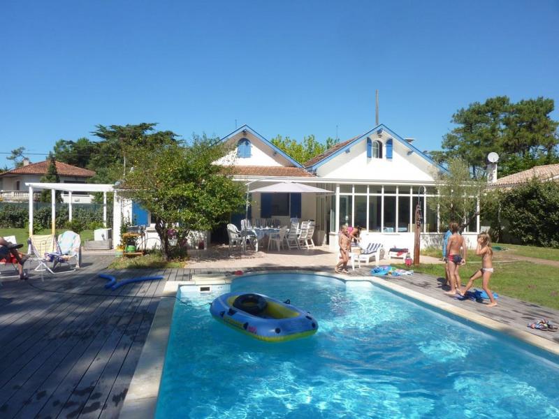 Au bord de la plage océane idéal pour 2 familles  villa + maisonnette
