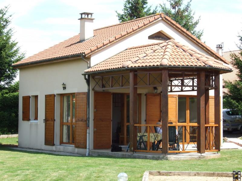 la maison avec son patio