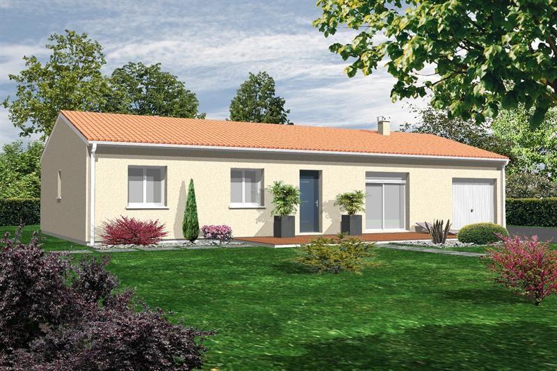 Maison  5 pièces + Terrain 1600 m² Saint Denis des Murs (87400) par GCI CONSTRUCTION