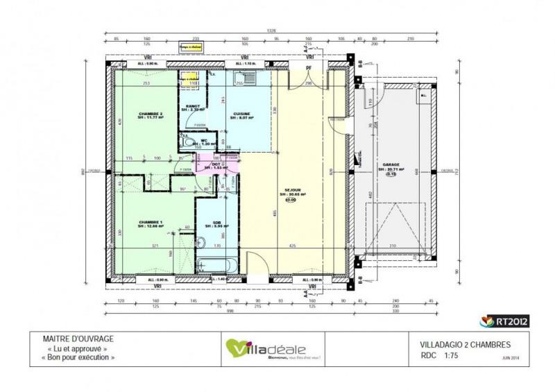 Vente maison 4 pi ces sainte pazanne maison projet de for Vente projet de construction
