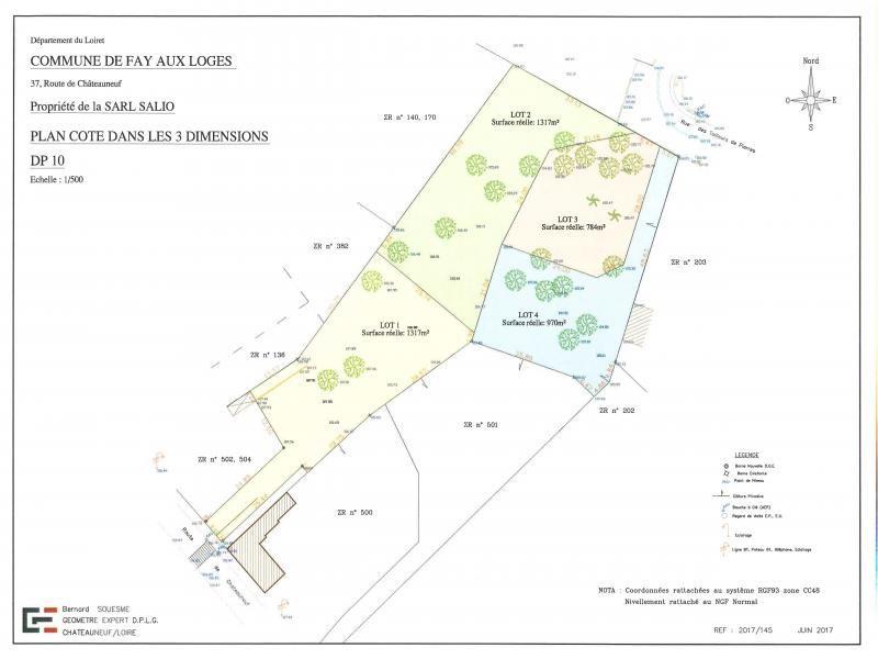 Vente terrain constructible fay aux loges 970m 65000 for Combien coute un terrain constructible