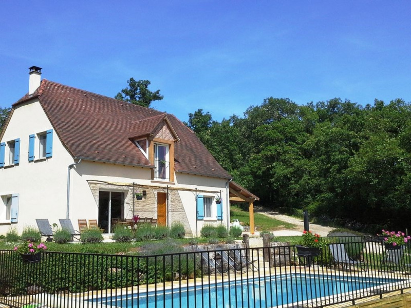 Location vacances Loubressac -  Gite - 10 personnes - Barbecue - Photo N° 1