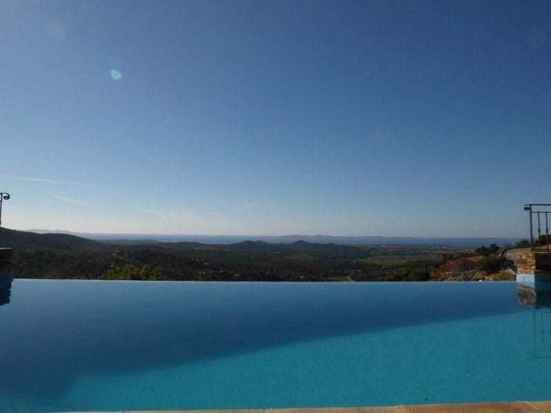 Villa pour 10 personnes avec piscine et vue panoramique mer.