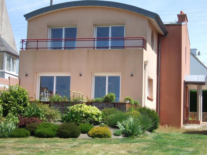 Façade maison côté jardin