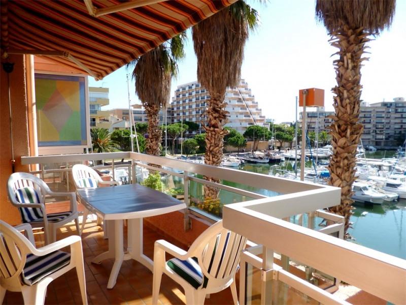 Alquileres de vacaciones Canet-en-Roussillon - Apartamento - 4 personas - Mueble de jardín - Foto N° 1