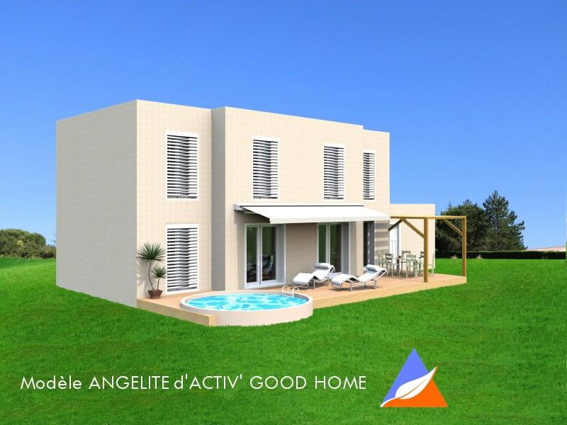 """Modèle de maison  """"Maison Bioclimatique ANGELITE de 5 chambres"""" à partir de 7 pièces Yvelines par ACTIV GOOD HOME"""