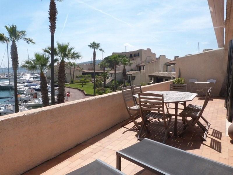 Splendide T4 à la Brigantine. Belle terrasse avec vue mer et Saint Tropez.