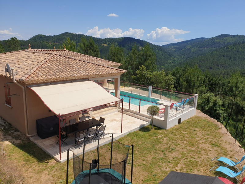 Location vacances Chamborigaud -  Maison - 10 personnes - Barbecue - Photo N° 1